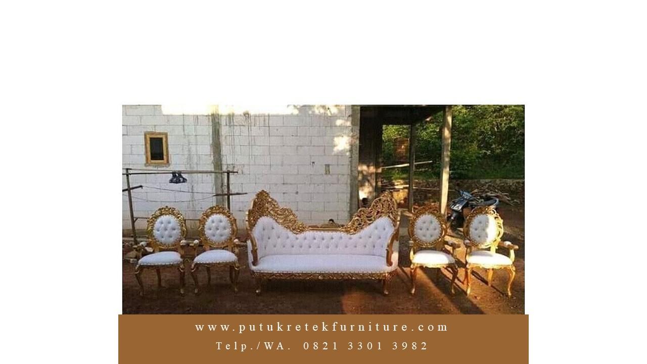 Jual model kursi pengantin pelaminan ganesha terbaru karya putukretek jepara