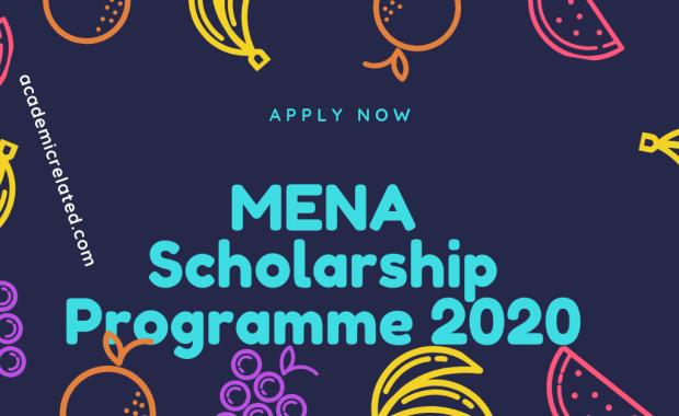 MENA-Scholarship-Programme