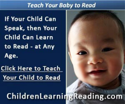 Children Learning Reading Program