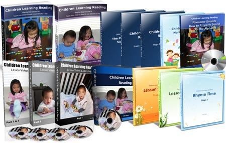 Children Learning Reading Program