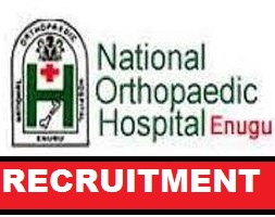Consultant Anaesthetist at the National Orthopaedic Hospital, Enugu