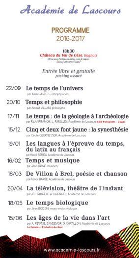 Programme 2016-17
