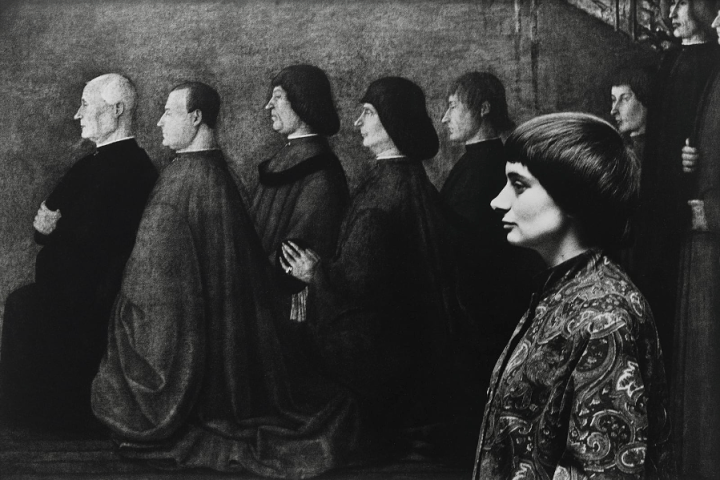 Agnes Varada autoportrait