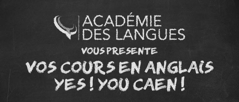 Cours en anglais à Caen