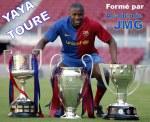 Yaya_toure_academie de soccer JMG de la cote ivoire avec FC Barca