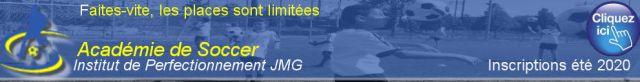 inscription 2020 academie de soccer institut de perfectionnement jmg montreal
