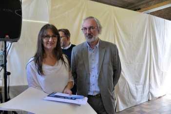 Prijs schepen Geert Vandersickel: als verdienstelijke leerling in het 2de jaar specialisatiegraad atelier keramiek: Frie Claessens