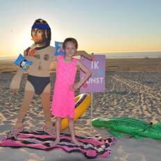 Winnaar lagere graad: 6 tot 12 jaar: Amber Moreau - 9 jaar