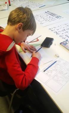 dag-van-de-academies-2019 Vouwstrips maken Foldy comics (Middel)