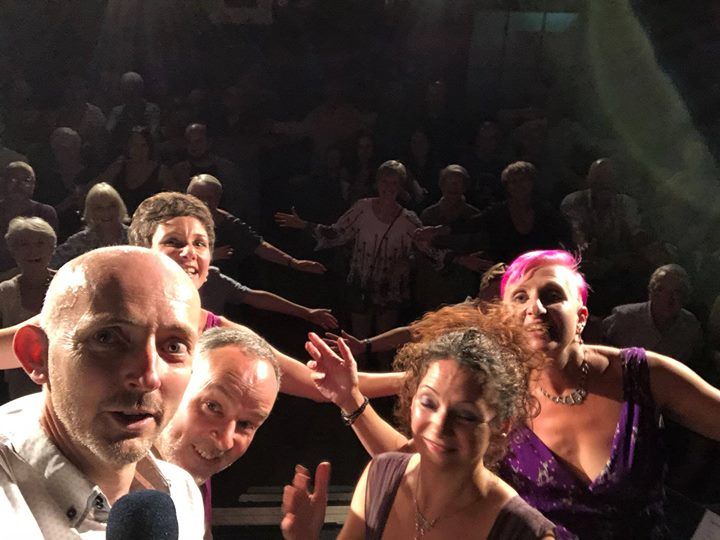 "Thank you SO much to the incredible audience we had at The Star Inn last night, you were probably the best audience we've ever had! And thank you so much for the ""standing ovation"" 😉😂 Hope to see you all soon!"