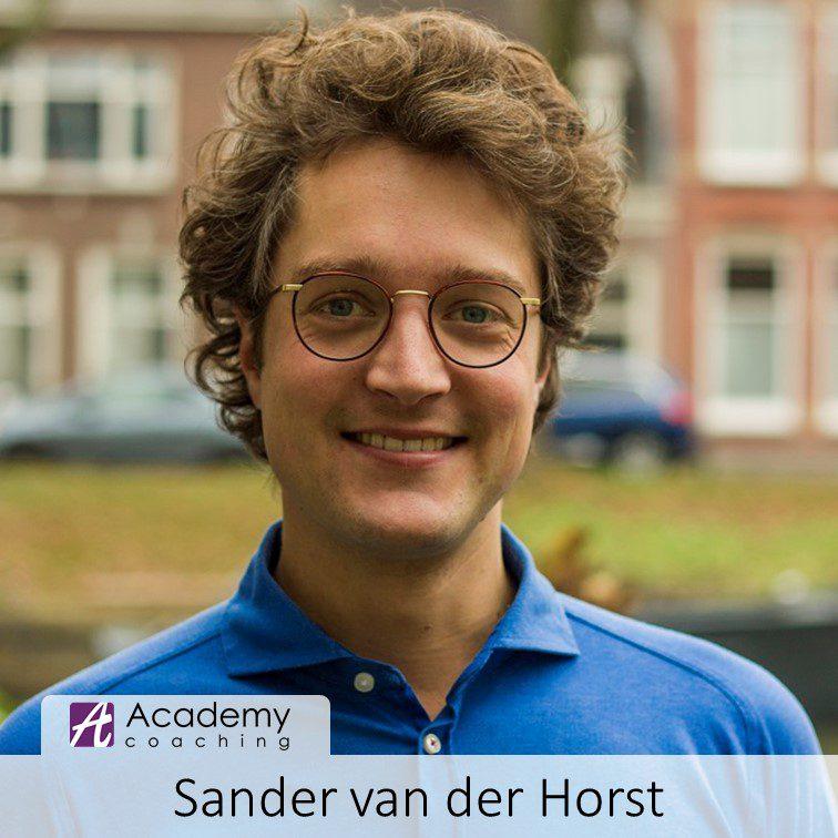 coach young professionals Utrecht Sander van der Horst