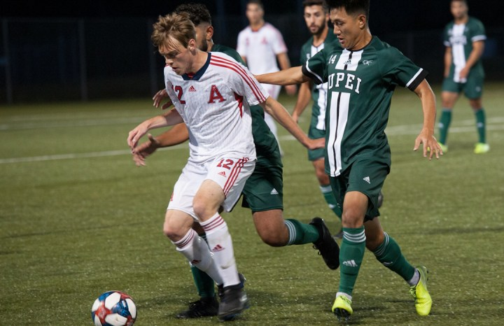 Axemen drop to 1-1 with road loss to UPEI