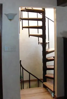 Spiral Staircase Kits Diy Wood Exterior Stair Kits In Nyc Ct | Building A Spiral Staircase | Spiral Stairs | Handrail | Old Fashioned | Wood | Double Spiral