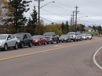 La circulation pourrait être difficile sur la route 11 au cours des prochains jours. - Archives