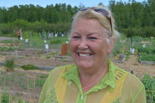 La présidente du jardin communautaire de Shediac, Odette Babineau. - Acadie Nouvelle: Pascal Raiche-Nogue