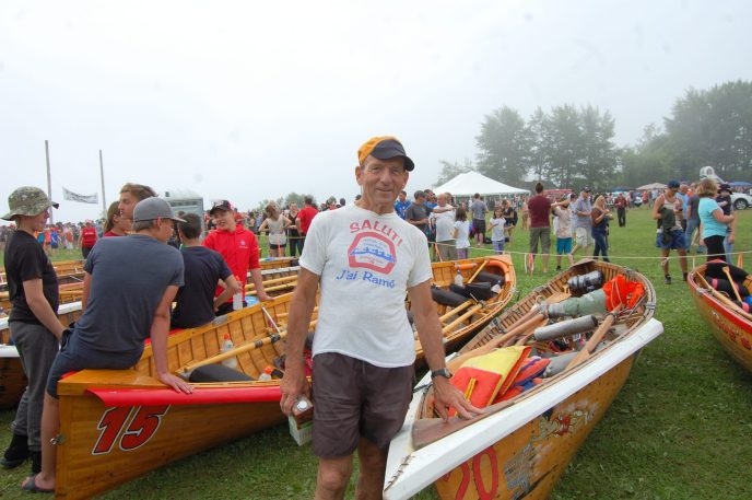 Reynald Fortin a pris part à sa première traversée de Petit-Rocher en 1973. Trente courses plus tard, il a encore le feu sacré - Acadie Nouvelle: Béatrice Seymour