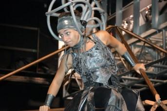 Stéphanie Bélanger est l'une des artistes du nouveau spectacle de LaB CirK de Circus Stella. - Acadie Nouvelle: Sylvie Mousseau