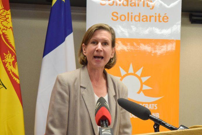 La toute nouvelle chef du NPD, Jennifer McKenzie - Archives