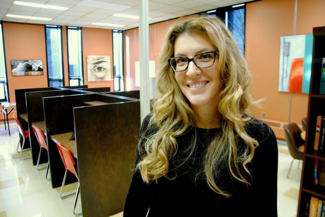 La responsable du Groupe-pont, Isabelle Bujold. - Acadie Nouvelle: Pascal Raiche-Nogue