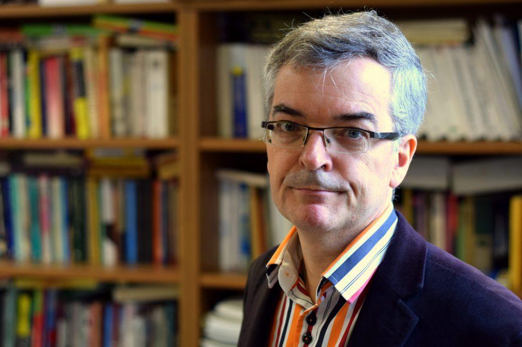 L'économiste Pierre-Marcel Desjardins, professeur à l'Université de Moncton. - Archives
