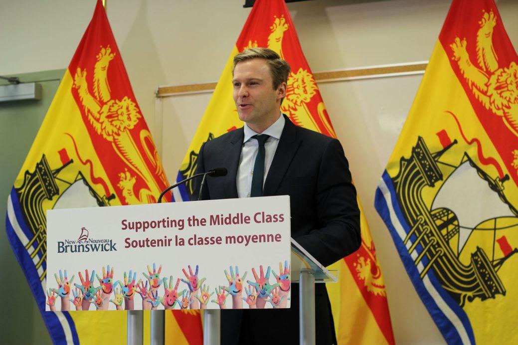 Brian Gallant a choisi le YMCA de Moncton pour annoncer un soutien financier supplémentaire à la classe moyenne- Acadie Nouvelle: Simon Delattre