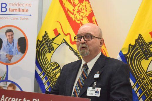 Le vice-président des affaires médicales, universitaires et de la recherche au réseau de santé Horizon, Dr Édouard Hendriks. - Acadie Nouvelle: Mathieu Roy-Comeau