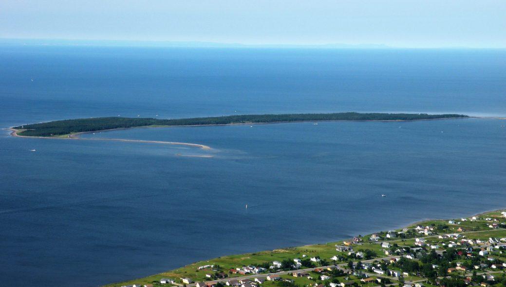 L'île de Caraquet. - Archives