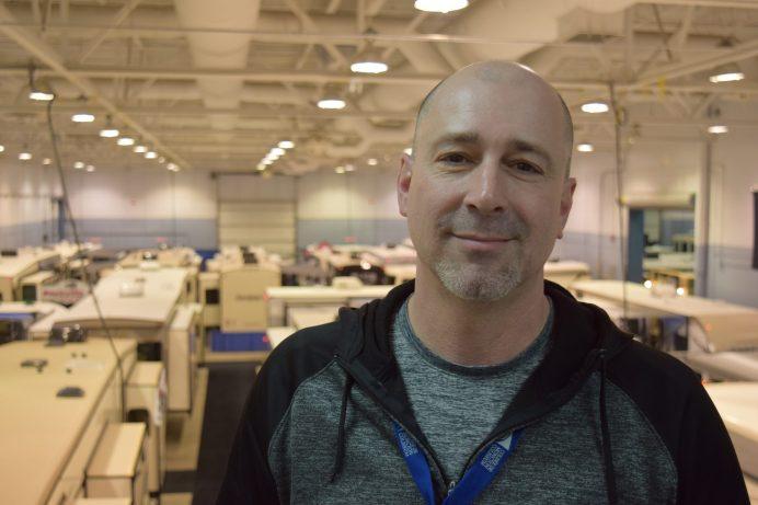 Scott Spraguer, gérant de l'événement, est bien satisfait des recettes. - Acadie Nouvelle : Anthony Doiron