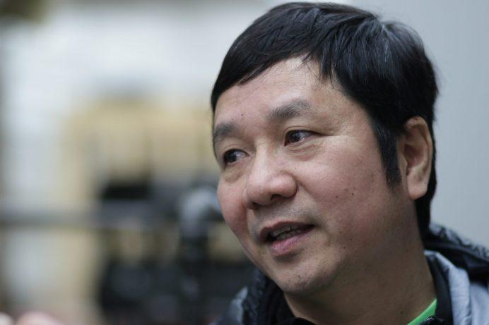 Tung Li est orignaire du Viternam. Il étudie la construction au CCNB, campus de Dieppe. - Acadie Nouvelle: Patrick Lacelle, 13 mars 2018.
