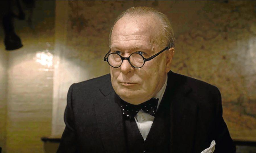 Gary Oldman tient le rôle de Winston Churchill dans Darkest Hour. - Archives