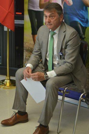 Le PDG du Réseau de santé Vitalité, Gilles Lanteigne, a lui-même passé un bien mauvais moment, lundi matin. - Archives