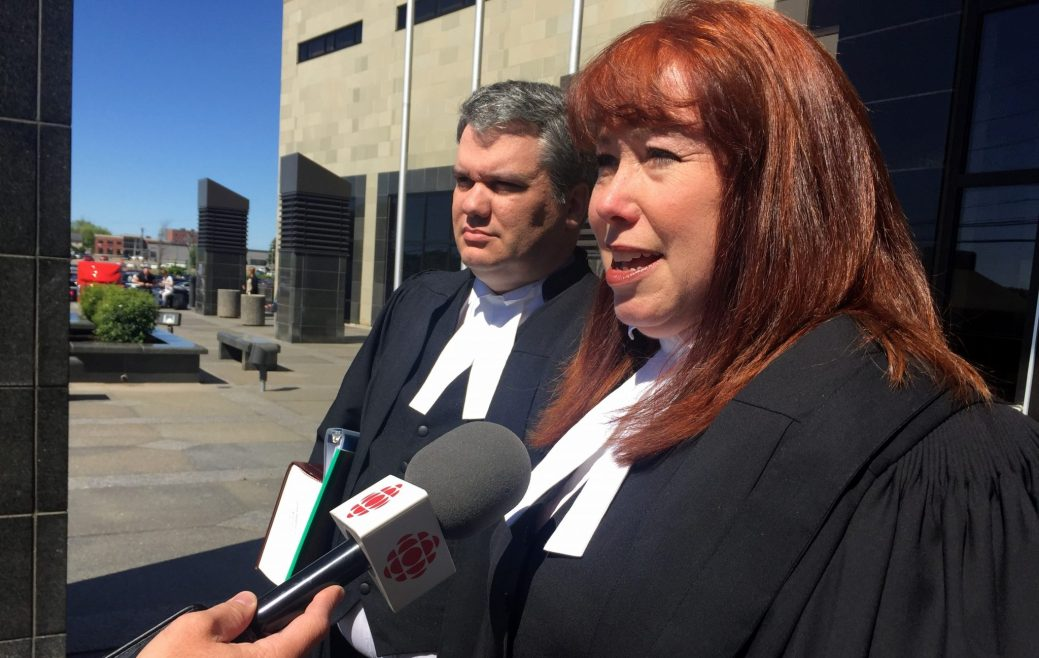 Annie St-Jacques et Éric Lalonde, procureurs de la Couronne dans le procès de Marissa Shephard. - Acadie Nouvelle: Jean-Marc Doiron