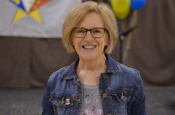 Jocelyne Boisvert, fille de William F. Boisvert, fondateur de l'école primaire de Rogersville. - Acadie Nouvelle: Jean-Marc Doiron