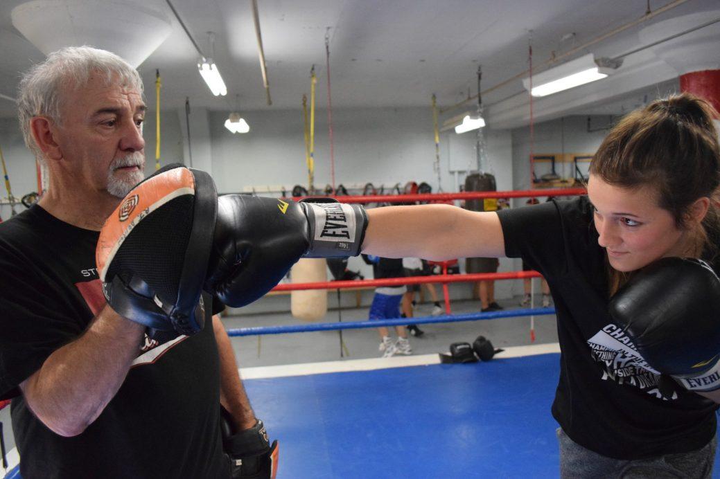 L'entraîneur Jeff McKay travaille avec France Doiron de quatre à cinq fois par semaine. - Acadie Nouvelle: Stéphane Paquette