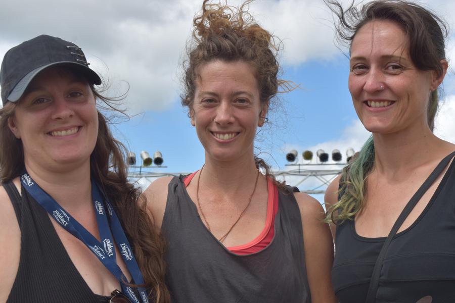 Julie Duguay, Elise Legrand et Michelle Maillet sont trois passionnées des arts du cirque. Acadie Nouvelle: Sylvie Mousseau