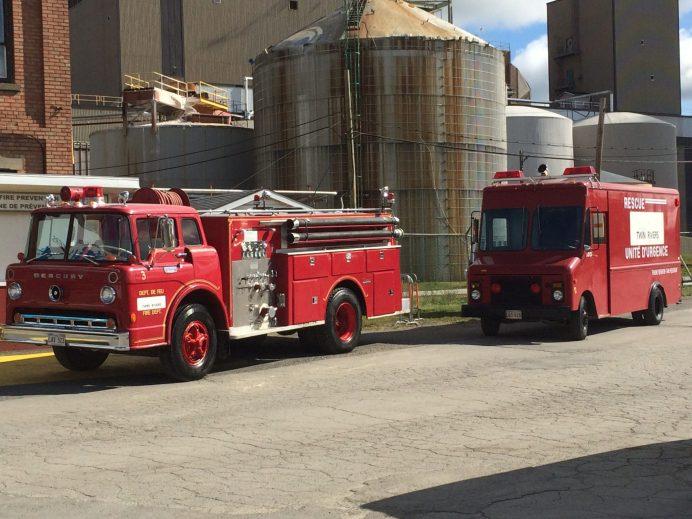 L'usine Twin Rivers a sa propre brigade de lutte aux incendies. - Acadie Nouvelle: Sébastien Lachance