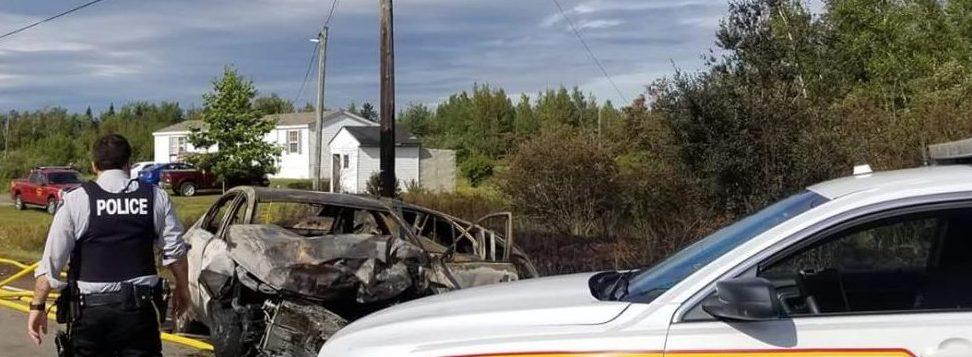Trois personnes ont été transportées à l'hôpital suivant une collision frontale sur la route 126, mercredi. - Gracieuseté: Danielle Lortz