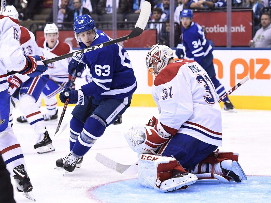 Le gardien Carey Price a connu un fort match devant la cage du Canadien. - PC/Nathan Denette
