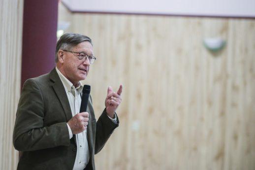 Dick Carpenter, propriétaire de Heritage Resources, a acheté le centre St. Patrick's. - Acadie Nouvelle: Patrick Lacelle