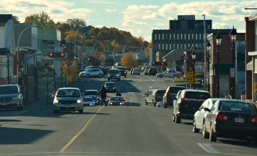 Le centre-ville de Campbellton. - Acadie Nouvelle: Jean-François Boisvert