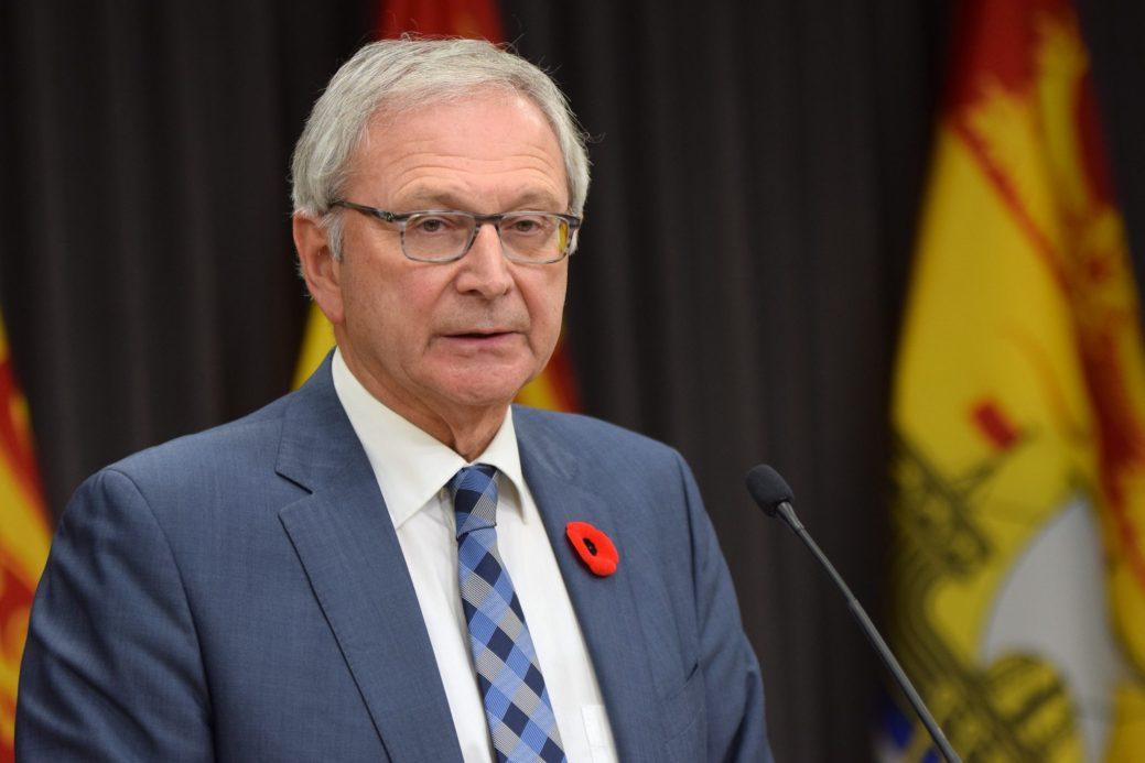 Le premier ministre Blaine Higgs. - Archives