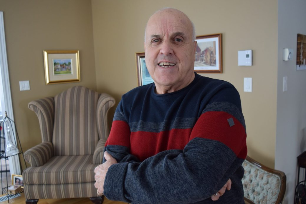 Le commissaire qui a recommandé, en 1997, la fusion de quatre communautés du Madawaska, Roland LeBel. Acadie Nouvelle: Pascal Raiche-Nogue
