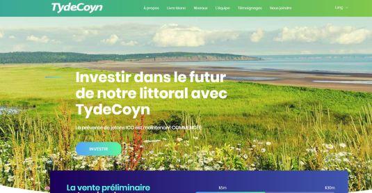 En cliquant sur les liens de la page TydeCoyn.ca, les internautes sont redirigés vers la page de sensibilisation de la commission. - Capture d'écran
