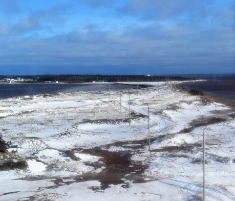 La dune de Chiasson Office perd du terrain chaque année en raison de l'érosion. - Acadie Nouvelle: David Caron