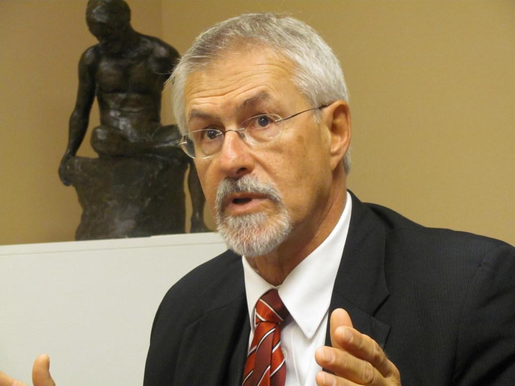Le commissaire aux langues officielles par intérim du N.-B., Michel Carrier. - Archives