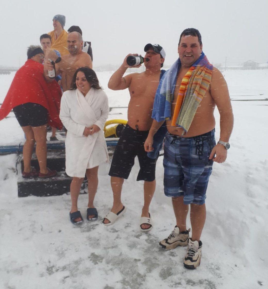 Le froid n'a pas réussi à stopper les participants. - Gracieuseté
