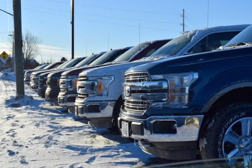 Les camions légers sont en tête des ventes au Nouveau-Brunswick. - Acadie Nouvelle: Simon Delattre