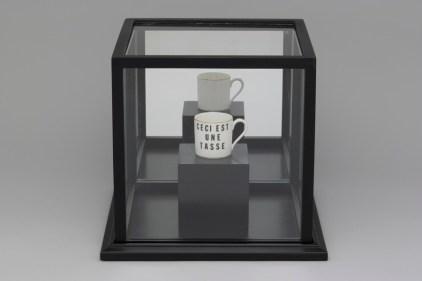 Une oeuvre de Léopold L. Foulem, Hommage à Magritte. - Gracieuseté: Richard Millette