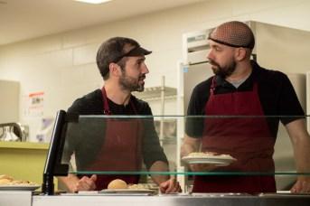 Christian Essiambre et André Roy dans une scène des Newbies. -Gracieuseté.