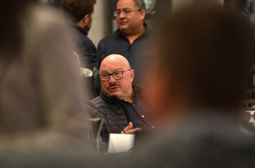 Robert Haché, de l'Association des crabiers acadiens, mercredi lors de la réunion annuelle du Comité consultatif du crabe des neiges du sud du golfe du Saint-Laurent. - Acadie Nouvelle: Jean-Marc Doiron